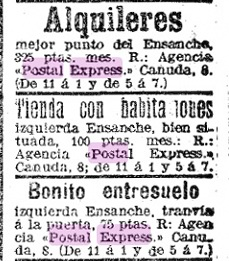 Barcelona-Postal-Express-advertisement- LAVANGUARDIA-03-Briefmarke-Stamp-Sello-Timbro–francobollo-Timbre-Frimærke-Postzegel-Známky-Poštneznamke-Znaczki