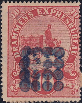 drammens-expresbureau-bypost-norway-local-private-bicycle-stamp-philately