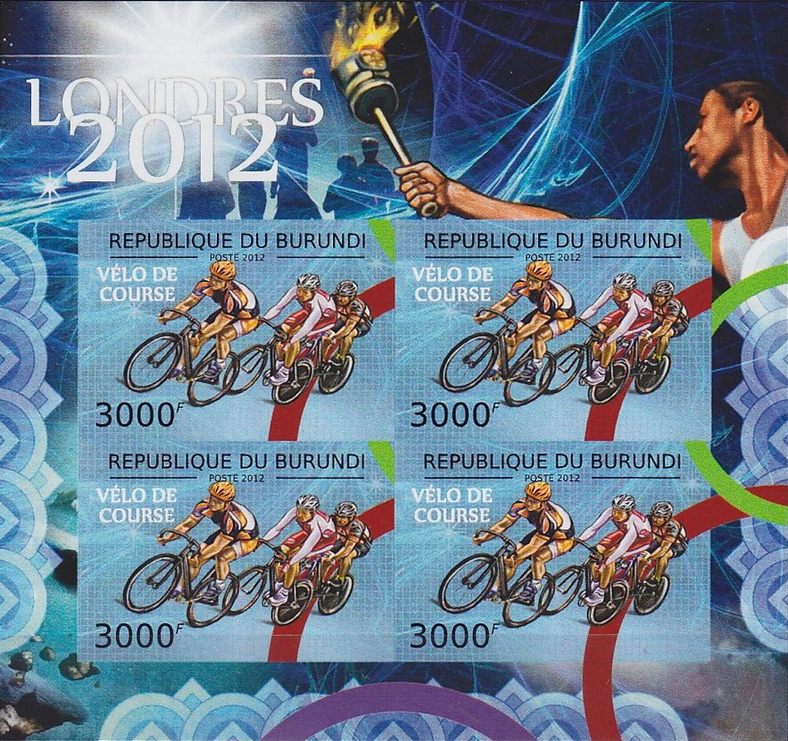 Stamperija-Burundi-stamp-bicycle-philately-fahrrad-briefmarke-velo-timbre-RE22359