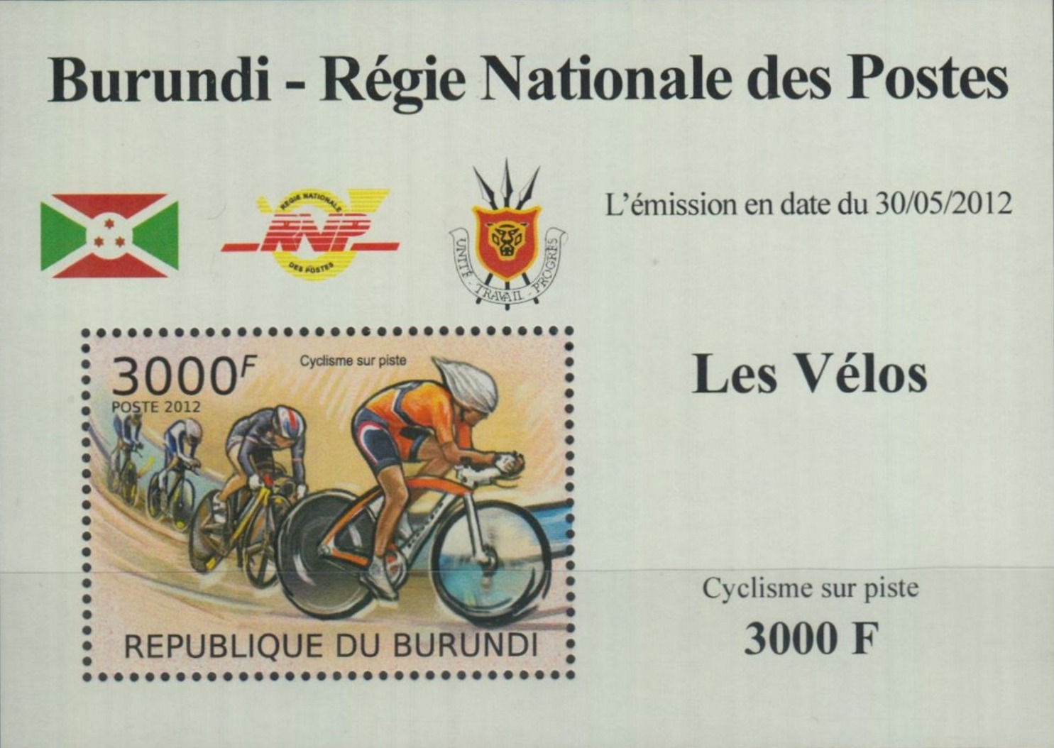 Stamperija-Burundi-stamp-bicycle-philately-fahrrad-briefmarke-velo-timbre-RE22414
