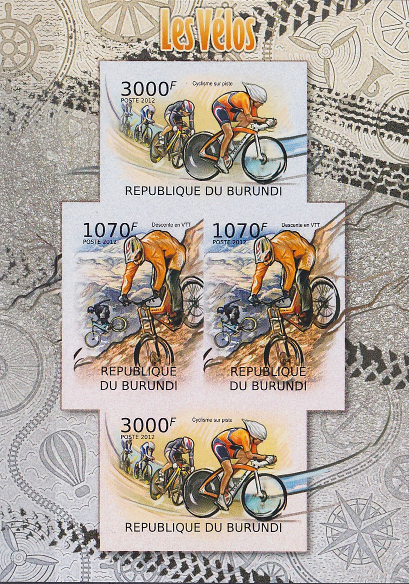 Stamperija-Burundi-stamp-bicycle-philately-fahrrad-briefmarke-velo-timbre-RE22446