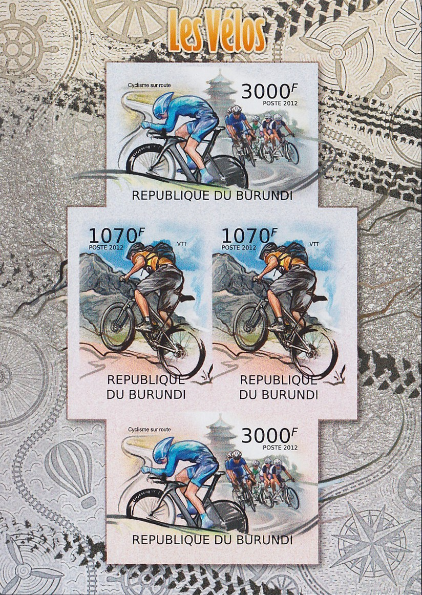 Stamperija-Burundi-stamp-bicycle-philately-fahrrad-briefmarke-velo-timbre-RE22469