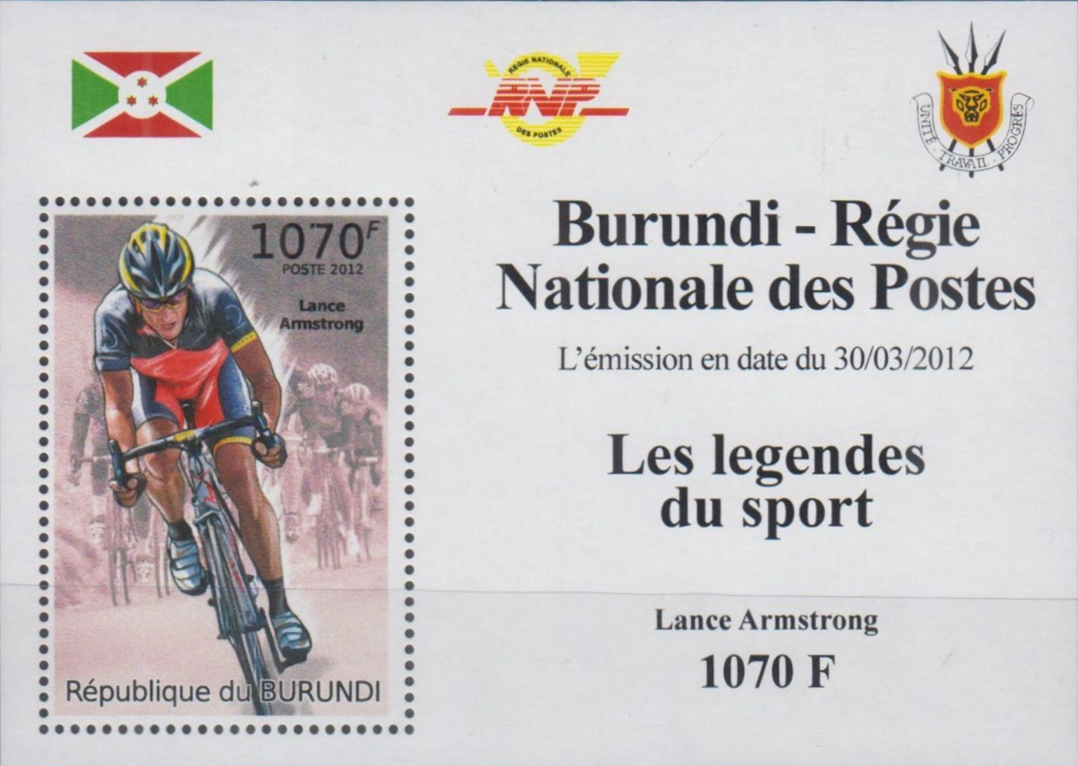Stamperija-Burundi-stamp-bicycle-philately-fahrrad-briefmarke-velo-timbre-RE22557