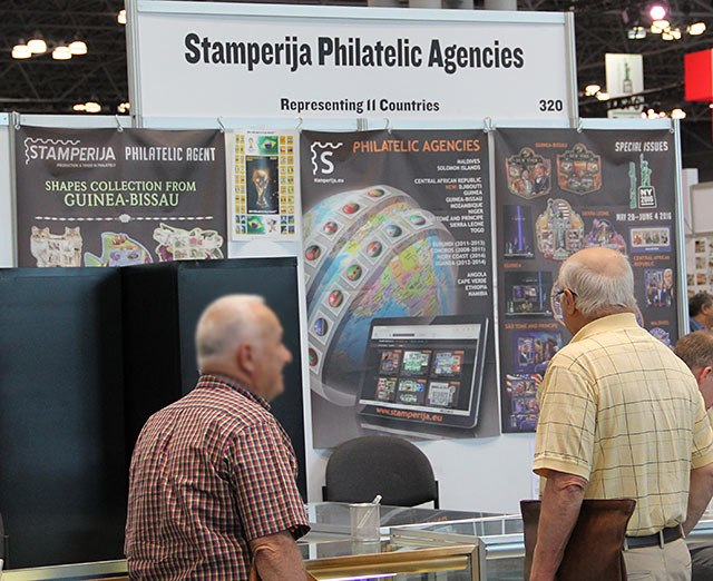 Stamperije stand World Stamp Show 2016