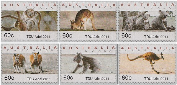 TDU-Tour-Down-Under-Adelaide-Australia-Koala-ATM-counter-printed-stamp-2011