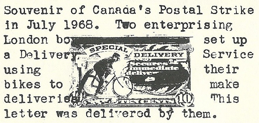 W-E-Mail-Service-London-Canada-Ontario-post-strike-1968-imprit