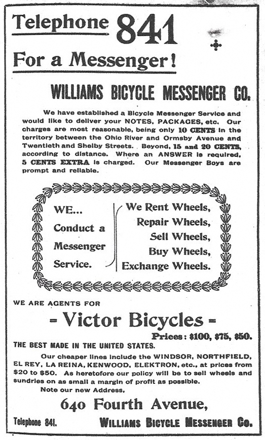Williams-Bicycle-Messenger-Company-Louisville-Kentucky-1889-velo-Fahrrad-charges-paid-Caron-Directory