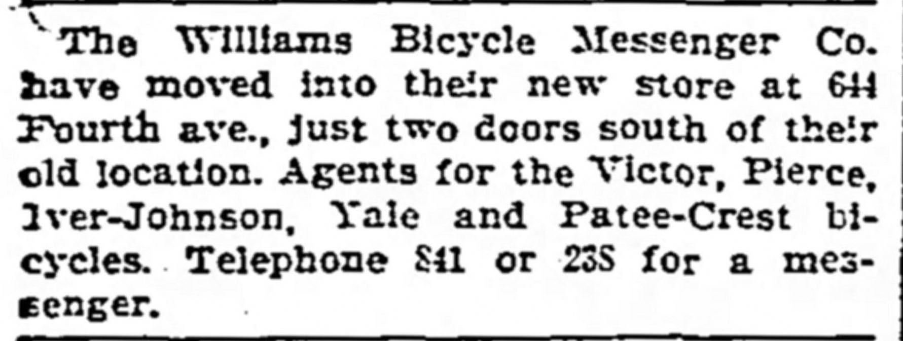 Williams-Bicycle-Messenger-Company-Louisville-Kentucky-1889-velo-Fahrrad-charges-paid-City-Directory