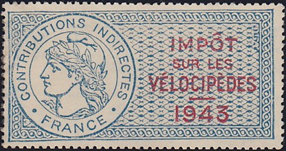 La-Tax-sur-les-Velocipedes-Hans-Werner-Salzmann-Cycliste-Radsport-bicycle-stamp-velo-timbre-Fahrrad-Briefmarke-Philatelie-philately