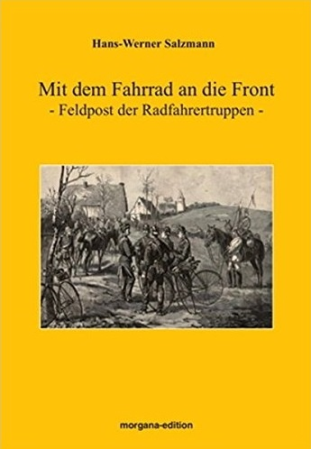 Cover of Mit dem Fahrrad an die Front